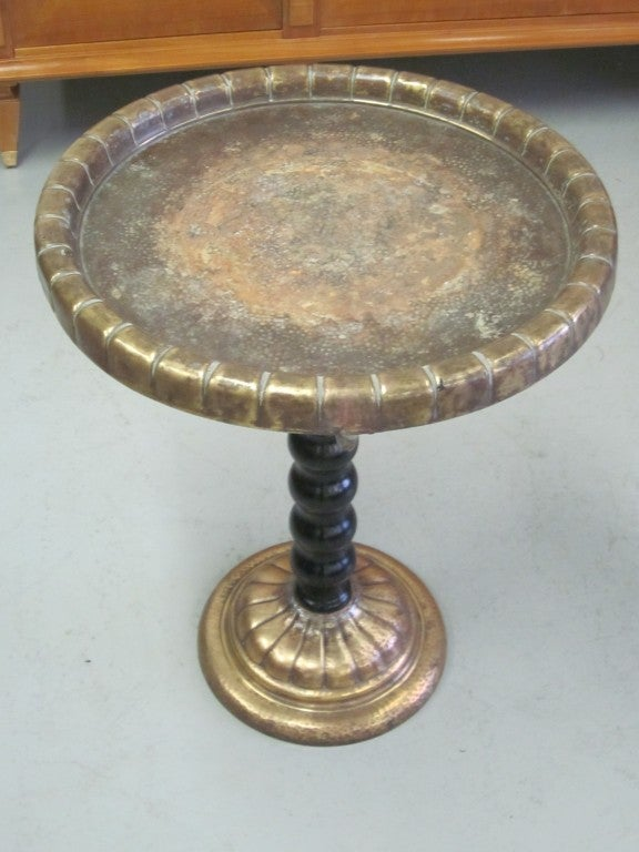 20th Century Unique Italian 1930's Gueridon or Side Table For Sale