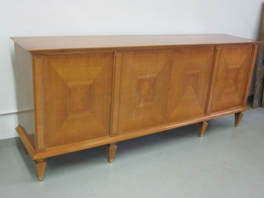Mid-Century Modern Important Modern Neoclassical Sideboard by André Arbus, France, 1949 For Sale