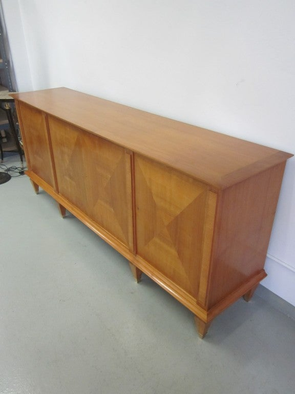 Important Modern Neoclassical Sideboard by André Arbus, France, 1949 In Good Condition For Sale In New York, NY
