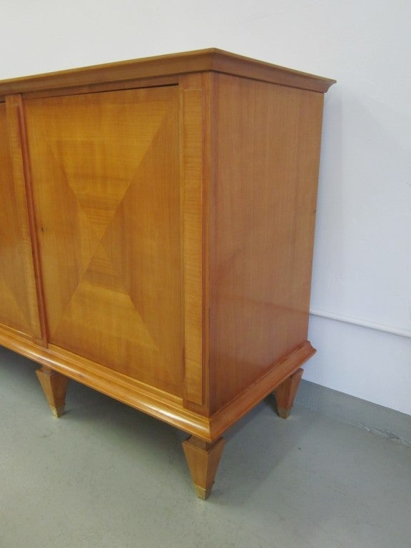 Important Modern Neoclassical Sideboard by André Arbus, France, 1949 For Sale 1