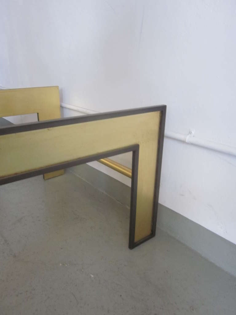 Large French Mid-Century Style Coffee Table from a Design by Marc Duplantier For Sale 1
