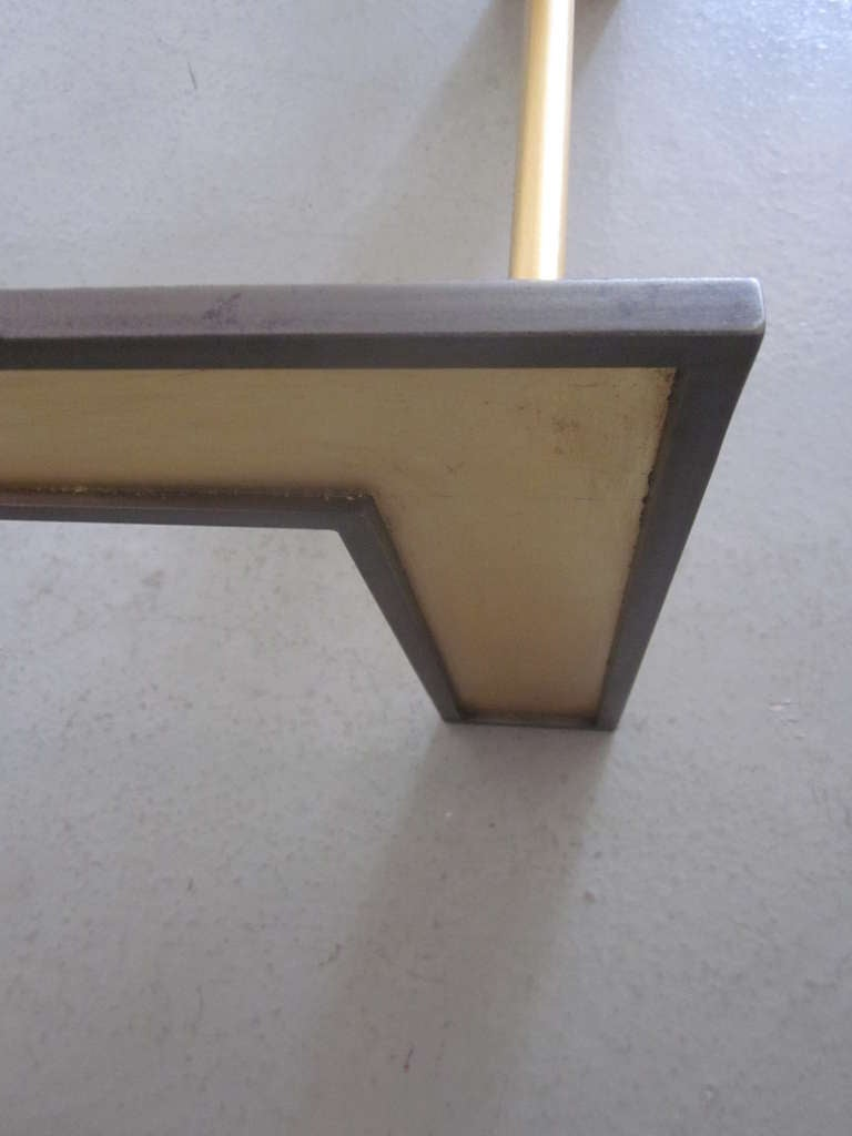 Large French Mid-Century Style Coffee Table from a Design by Marc Duplantier For Sale 2