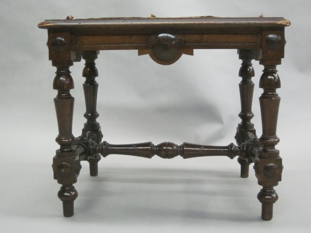 Pair of Italian Hand-Carved Benches or Stools 3