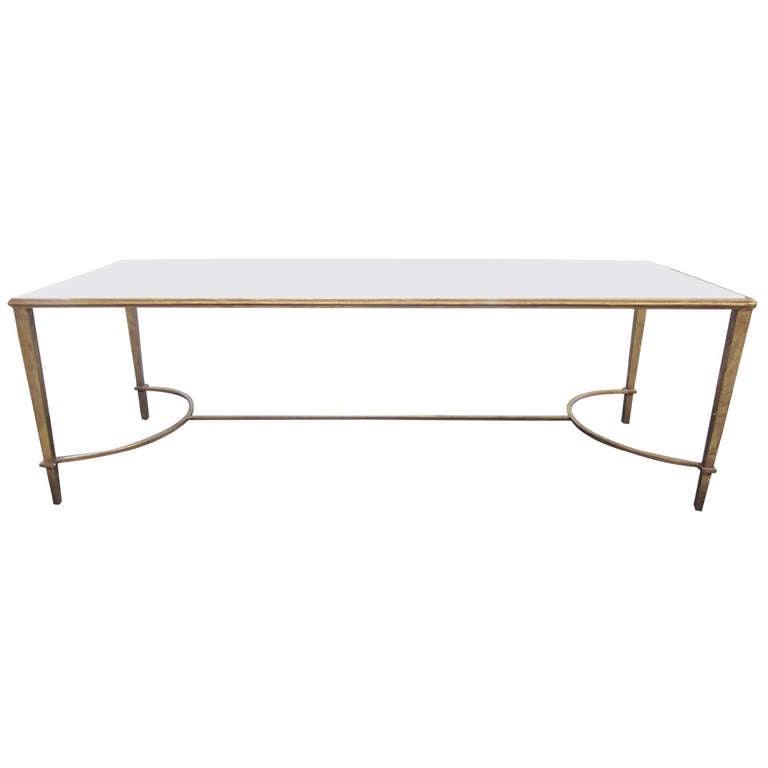 Large French Coffee Table: Large French Cocktail Table In The Manner Of Maison Ramsay