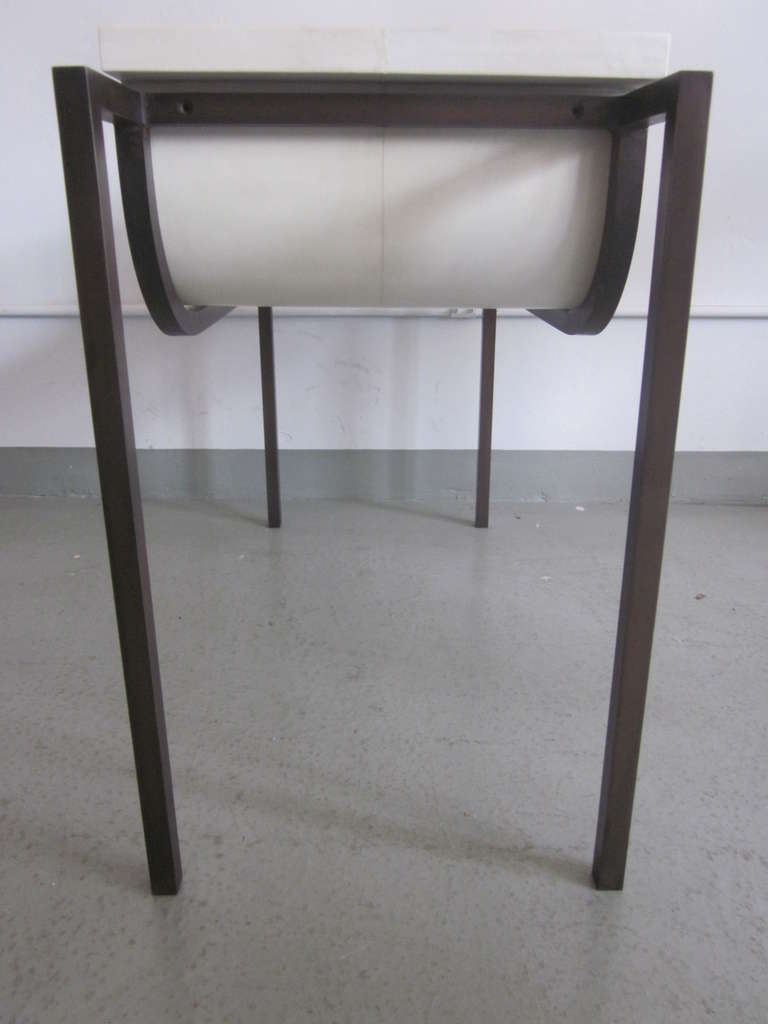 Two Parchment Benches in the Style of Marc Duplantier For Sale 3