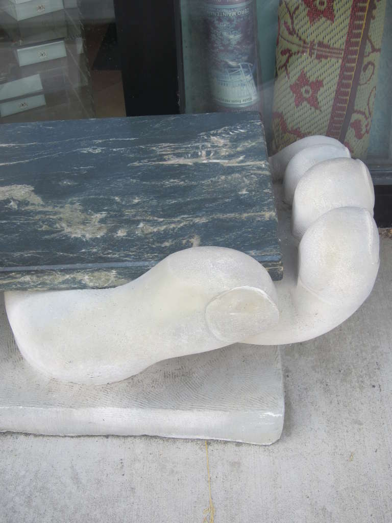 American 'Helping Hands' Bench / Sculpture For Sale