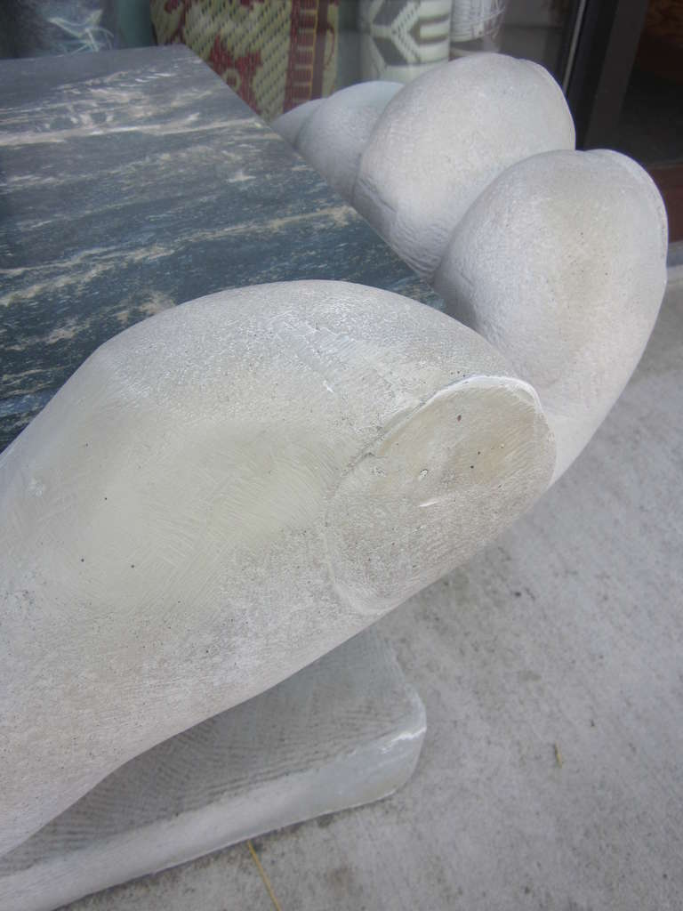'Helping Hands' Bench / Sculpture For Sale 1