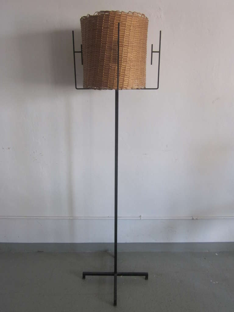 Pair of French Mid-Century Modern Floor Lamps by Disderot 2