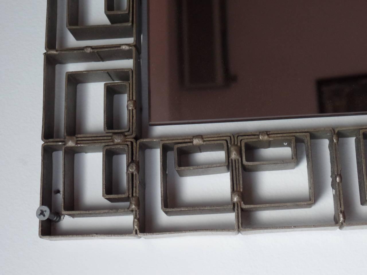 Large Italian Modern Neoclassical Floor Wall Mirror For