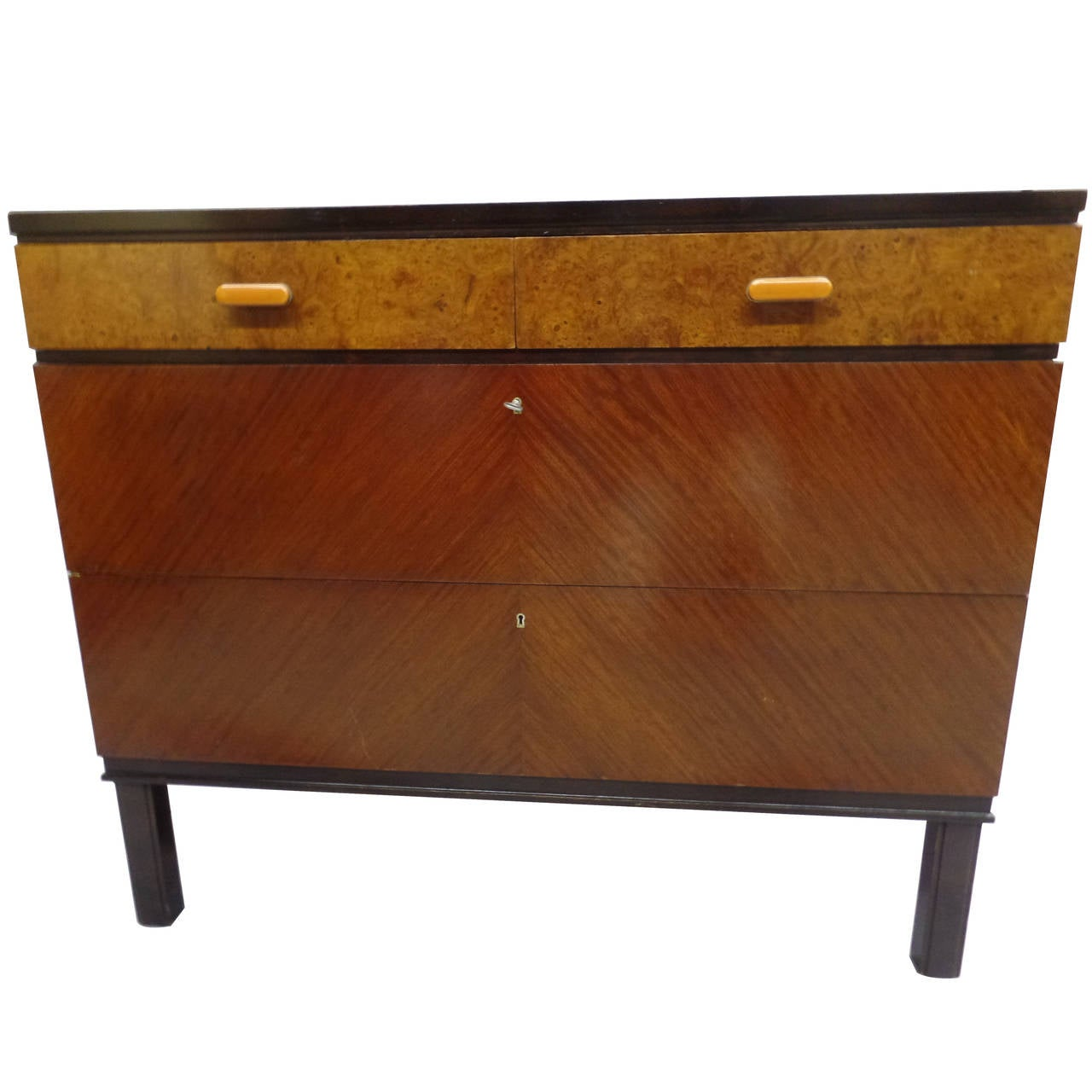 Swedish Mid-Century Modern Chest of Drawers / Commode by Axel Einar Hjort, 1930 2