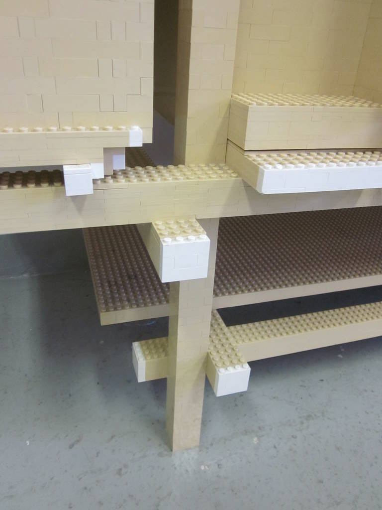 Important, Unique 'Rietveld ' Lego Sideboard by Minale-Maeda for Droog Design For Sale 3