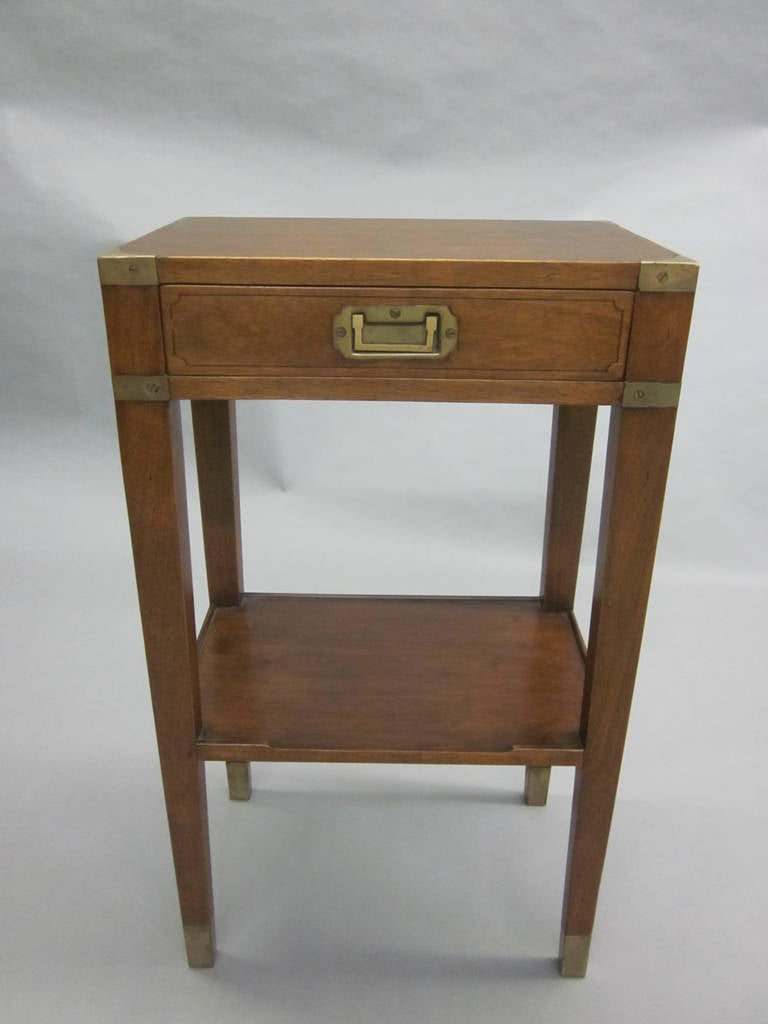 Pair of French MId-Century Style 'Marine' End Tables or Nightstands 2