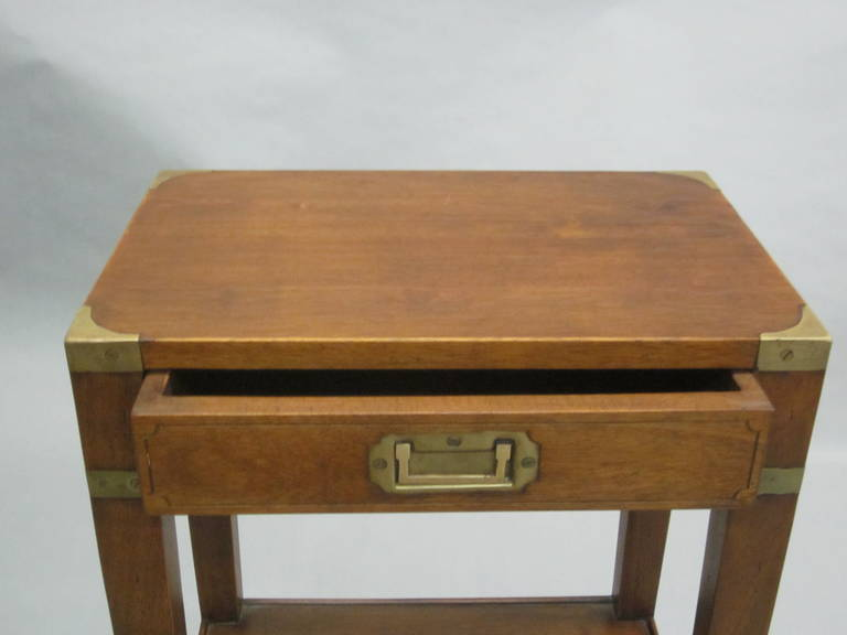 Pair of French MId-Century Style 'Marine' End Tables or Nightstands 8