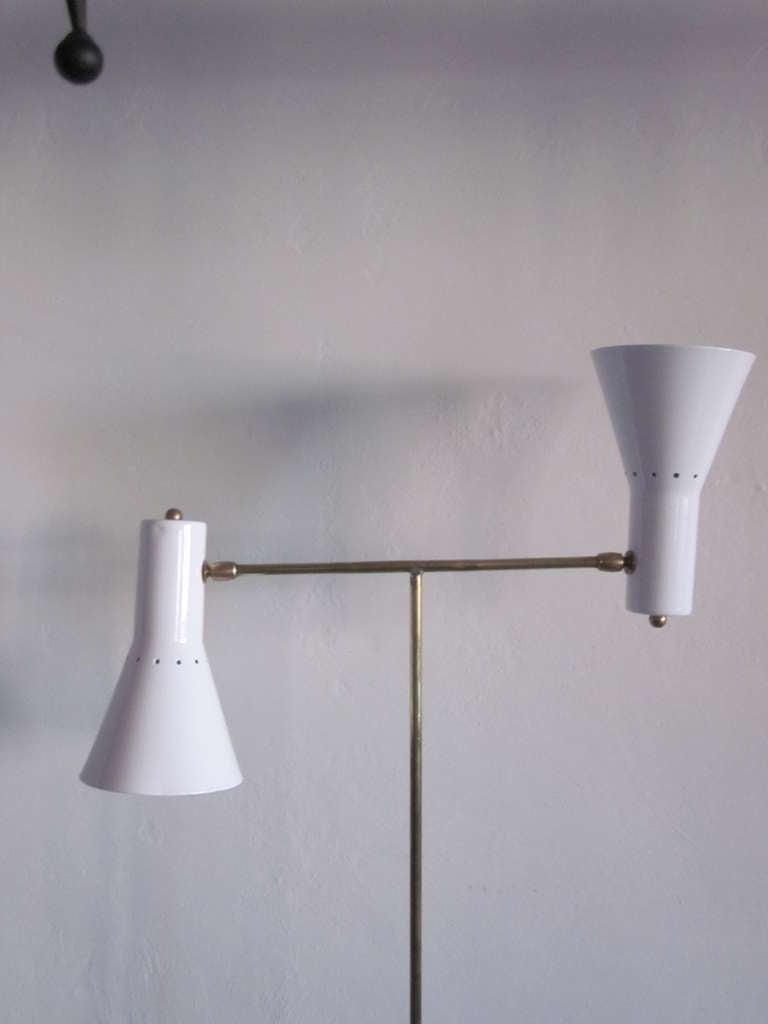 Rare Italian Design Multi Flex Floor Lamp By Giuseppe Ostuni For Sale At 1stdibs