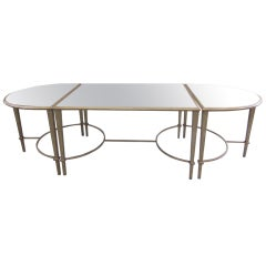 Large Cocktail Table in the Manner of Maison Ramsay
