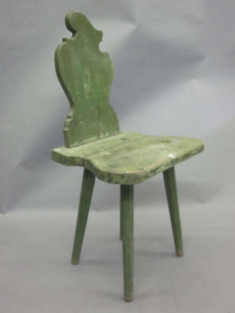 Four Italian Futurist 'Sgabello' Chairs or Stools For Sale 1
