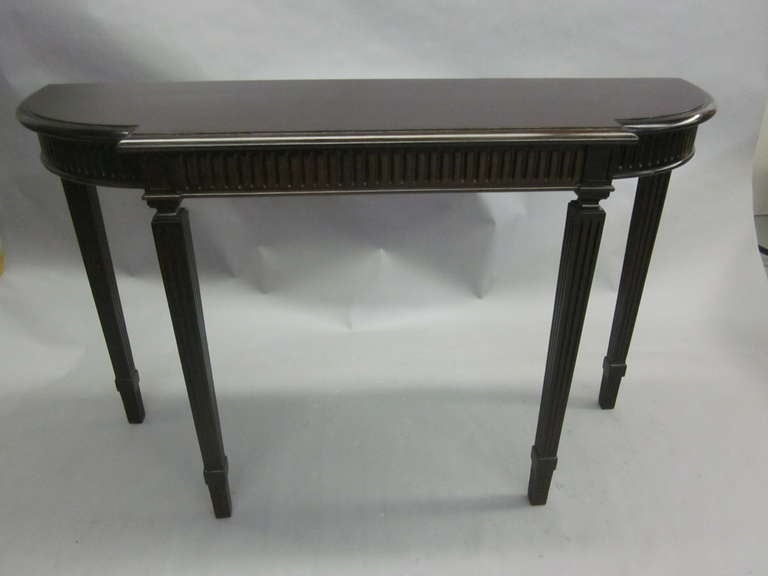 Italian Modern Neoclassical Console Table in the Manner of Paolo Buffa 2