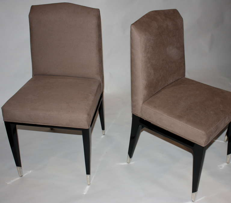 French Set of Four Raphael Chairs For Sale