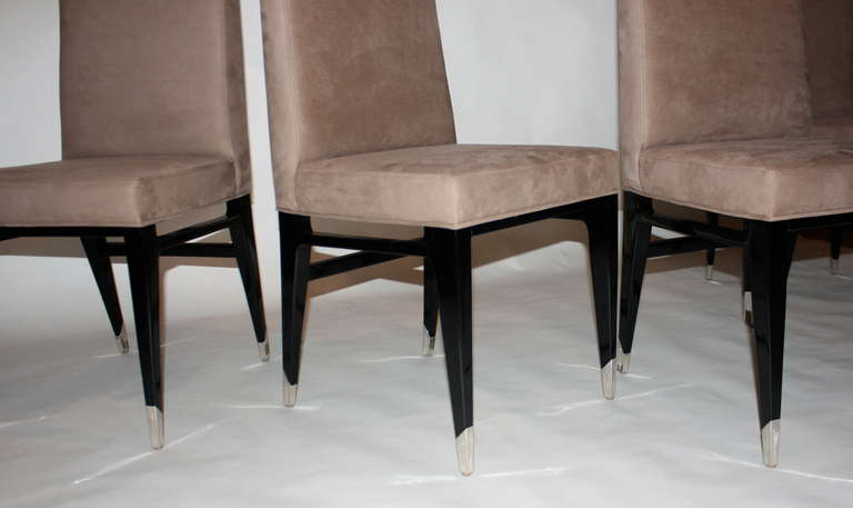 Mahogany Set of Four Raphael Chairs For Sale