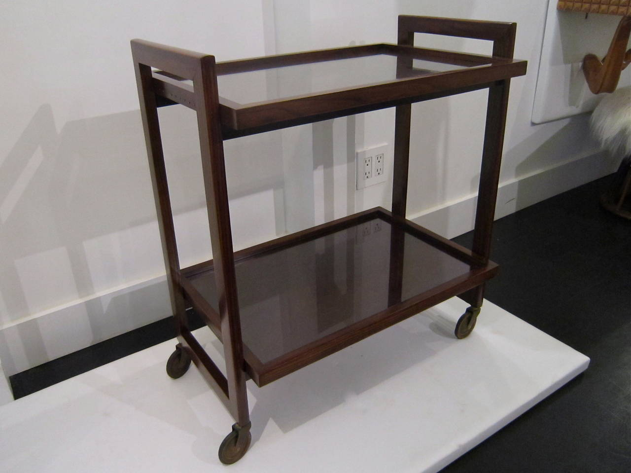 Andre Sornay Bar Cart For Sale 1
