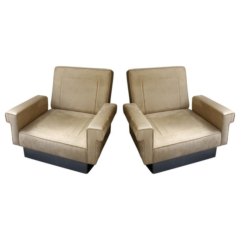 Jacques Charpentier Armchairs For Sale