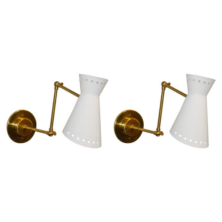 Pair of Italian Sconces For Sale