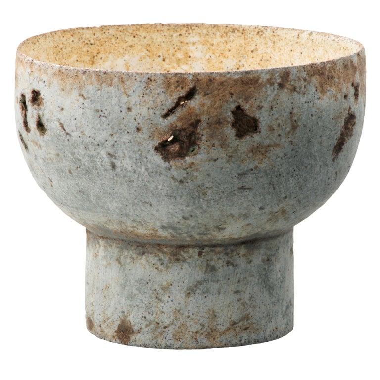Paul Philp - Ceramic Round Based Bowl at 1stdibs
