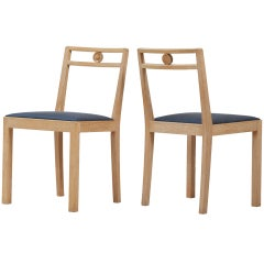 Axel Einar Hjorth - Pair of Chairs