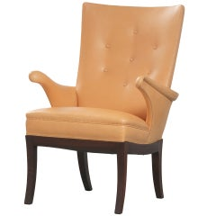 Frits Henningsen - Leather Armchair