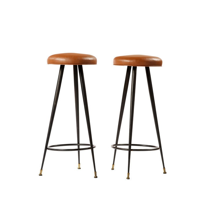 Pair Of Stools At 1stdibs