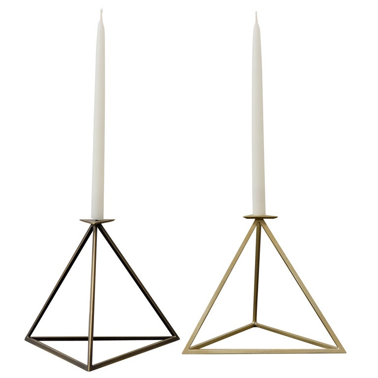 Aaron Silverstein Prime Candle Stand For Sale