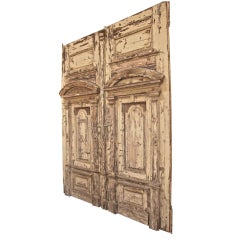 19th C. Oversized Doors