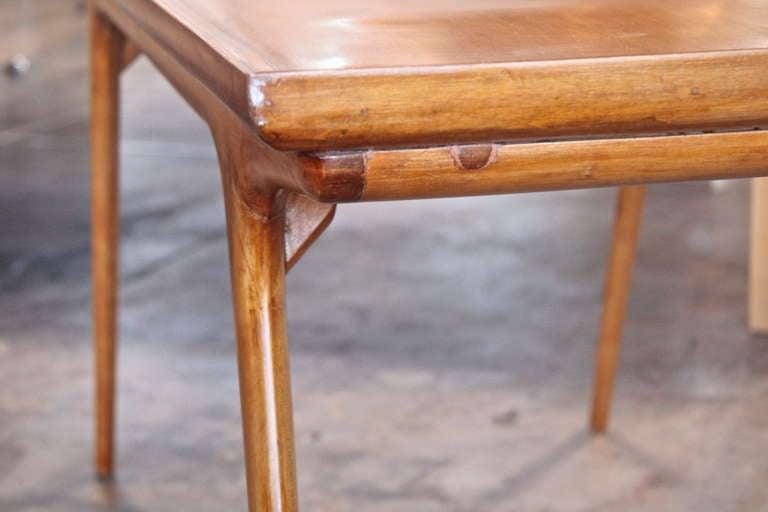Italian 50s Paolo Buffa Wooden Coffee Table For Sale 3