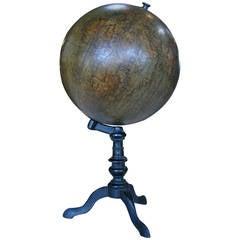 19th Century Italian Ceramic Globe