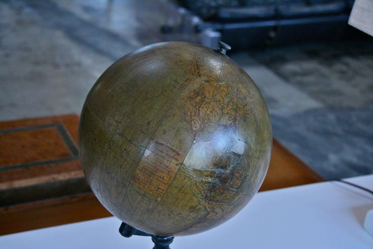19th Century Italian Ceramic Globe For Sale 3