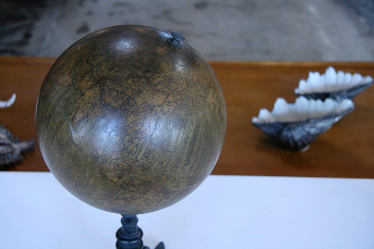 19th Century Italian Ceramic Globe For Sale 4
