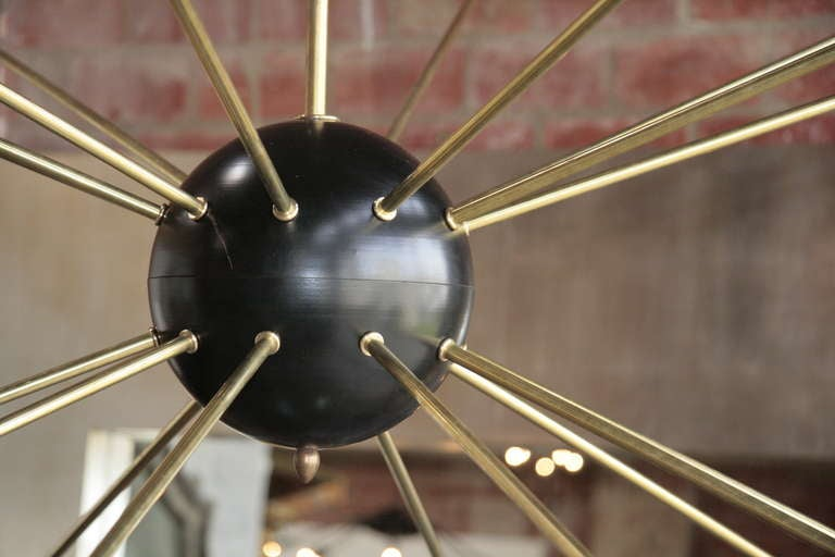 Oversized Italian Sputnik Light 4