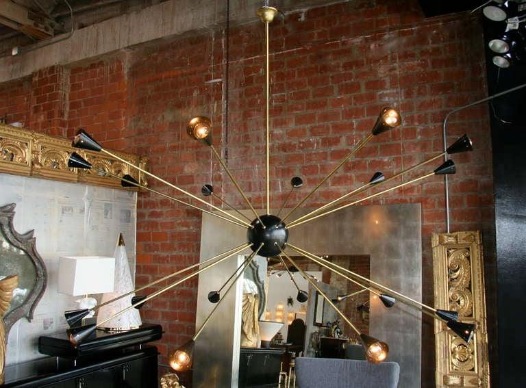 Oversized Italian Sputnik Light 3