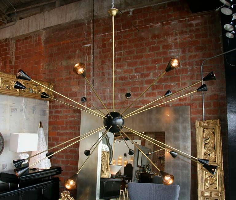 Oversized Italian Sputnik Light 2