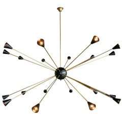 Oversized Italian Sputnik Light