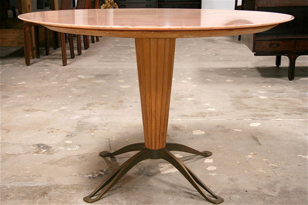 Osvaldo Borsani Marble Top with Bronze Leg Table at 1stdibs : 794612762980092 from www.1stdibs.com size 1023 x 683 jpeg 109kB