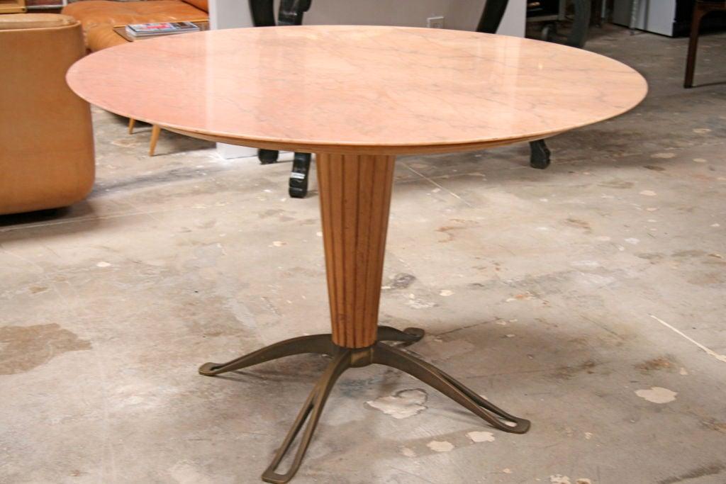 Osvaldo Borsani Marble Top with Bronze Leg Table at 1stdibs : 794612762980093 from www.1stdibs.com size 1024 x 683 jpeg 82kB
