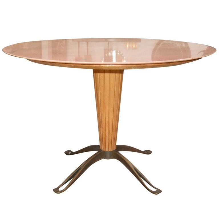 Osvaldo Borsani Marble Top with Bronze Leg Table at 1stdibs : XXX794612762980091 from www.1stdibs.com size 768 x 768 jpeg 27kB