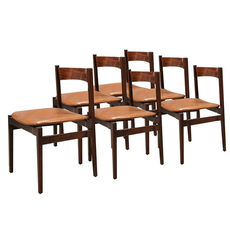 Six Gianfranco Frattini Chairs