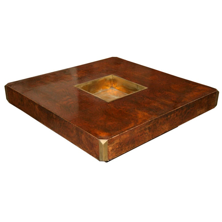 Willy rizzo coffe table at 1stdibs for Table willy rizzo
