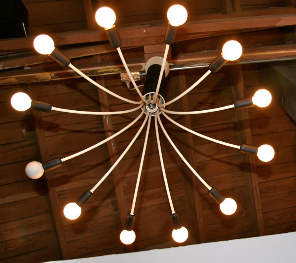 Late 20th Century Esperia Chandelier 12 Light For Sale