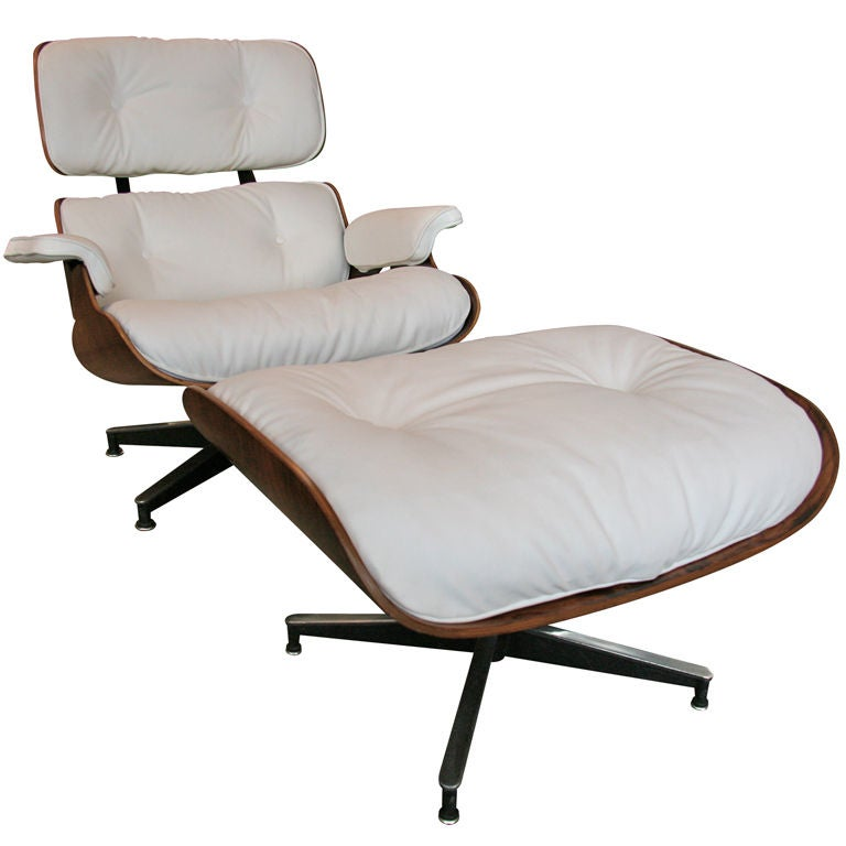 Eames Lounge Chair with Ottoman at 1stdibs
