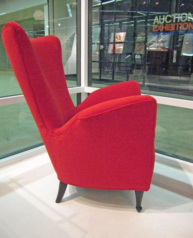 Mid-20th Century Italian 50s Armchairs For Sale