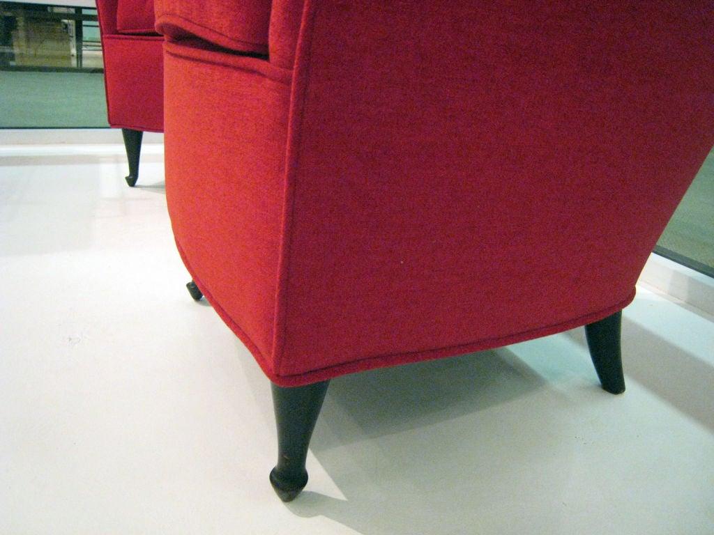 Italian 50s Armchairs For Sale 2