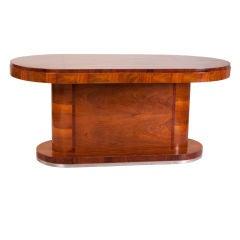 Italian 1950s Walnut Table